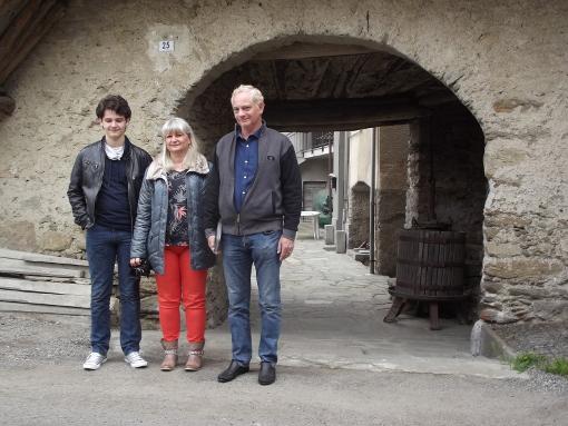 Mathilde COMBETTO e la sua famiglia a Mattie, alla riscoperta delle proprie radici.